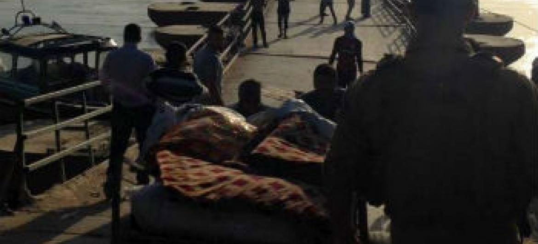 """Segundo o Acnur, civis deslocados ainda enfrentam """"graves obstáculos"""" em diversos pontos de inspeção na saída de Anbar para outras províncias.Foto: Acnur/G. Ohara"""
