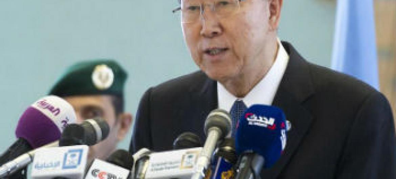 Ban Ki-moon. Foto: ONU//Mark Garten (arquivo)
