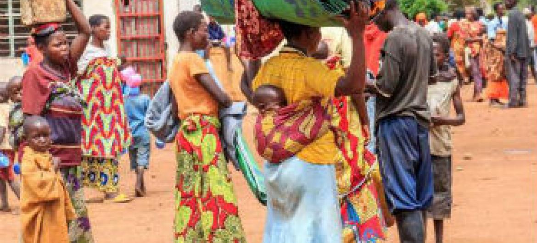 Deslocamentos em massa no Burundi. Foto: Acnur/S. Masengesho