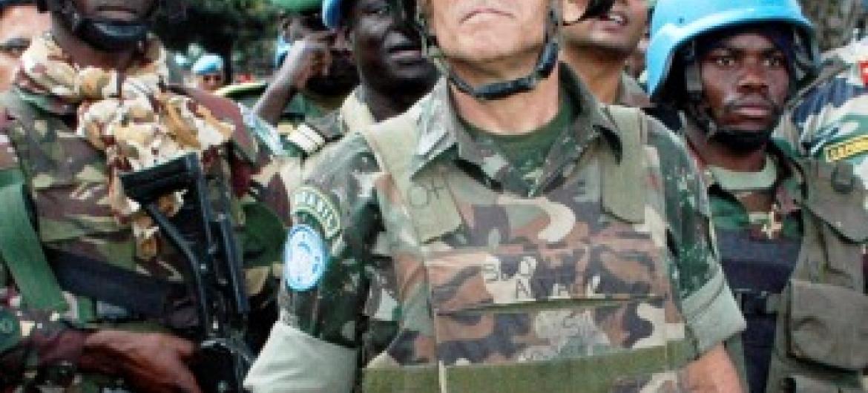Carlos Alberto dos Santos Cruz. Foto: ONU