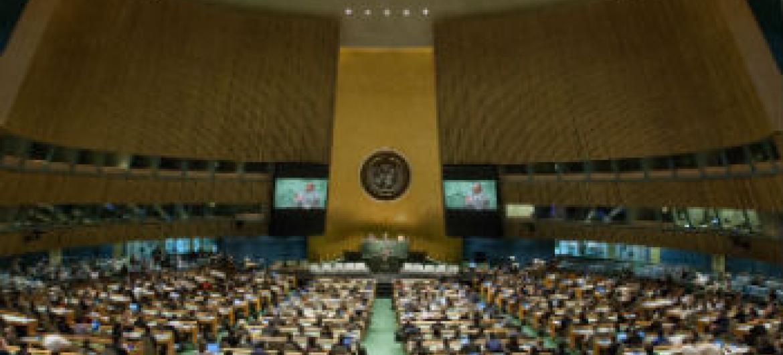 Evento decorre na sede da ONU em Nova Iorque. Foto: ONU/Loey Felipe
