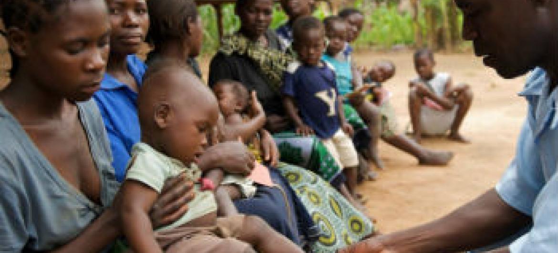 Desnutrição infantil no Malaui. Foto: Unicef