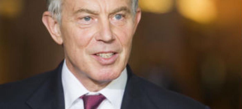 Tony Blair. Foto: ONU/Mark Garten
