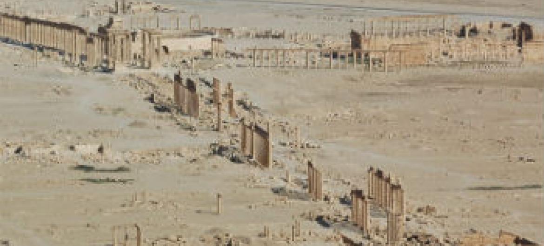 Palmira, Síria. Foto: Unesco