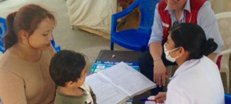 Autoridades nepalesas temem o surgimento de uma epidemia de sarampo.Foto: OMS/P. Garwood