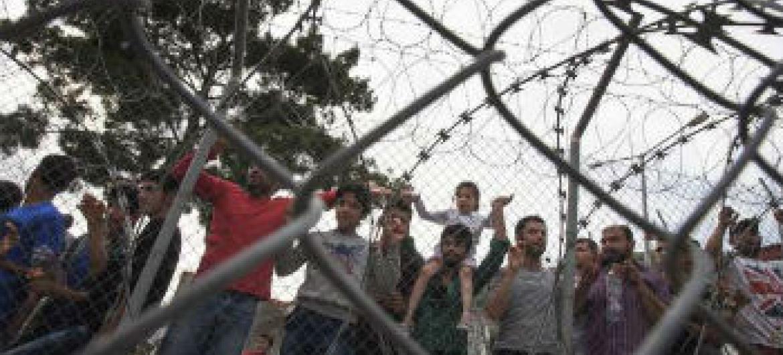 As ilhas gregas recebem um número muito grande de migrantes e refugiados.Foto: Acnur/A. D'Amato