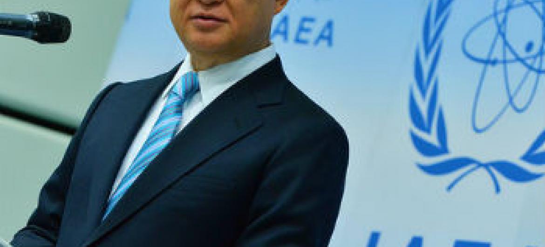 Yukiya Amano. Foto: AIEA/Dean Calma