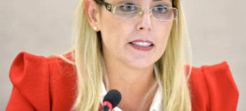 Gabriela Knaul. Foto: ONU/Jean-Marc Ferré