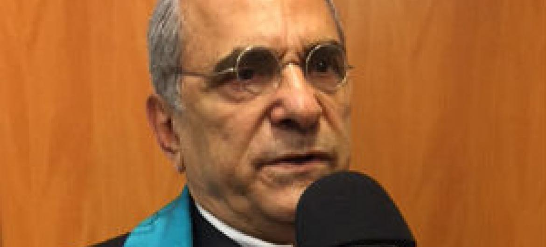 José Ramos-Horta em entrevista à Rádio ONU. Foto: Rádio ONU