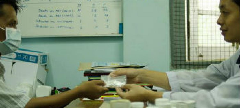 Maior acesso ao tratamento antirretroviral. Foto: Unaids