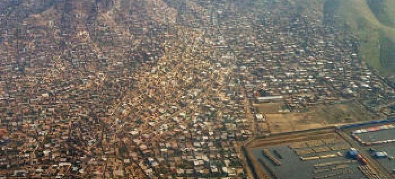 Imagem aérea de Cabul, Afeganistão. Foto: ONU/Ari Gaitanis