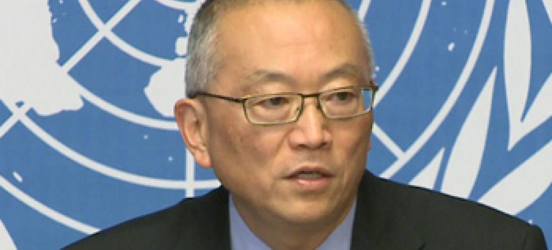 Keiji Fukuda, da OMS. Foto: UNTV.