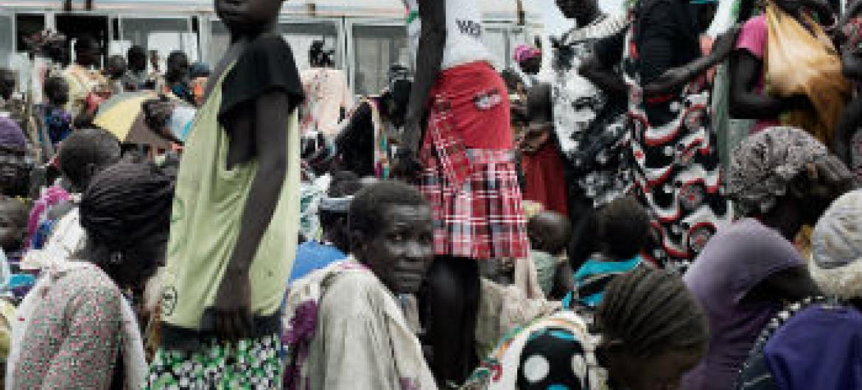 Deslocados internos no Sudão do Sul. Foto: Unicef/Jacob Zocherman