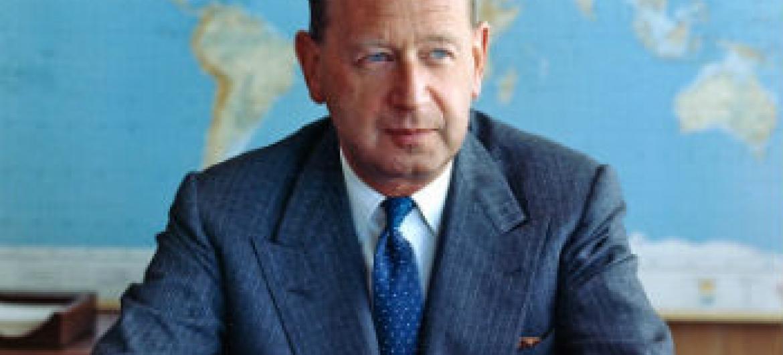 Dag Hammarskjöld. Foto: ONU