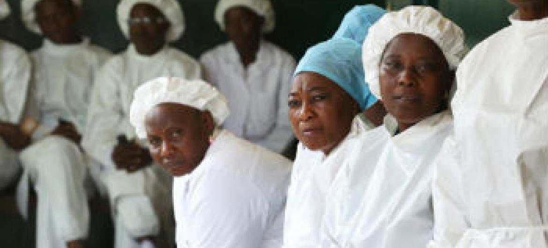 Mortalidade materna aumento em países afetados pelo ébola. Foto: Banco Mundial/Dominic Chavez