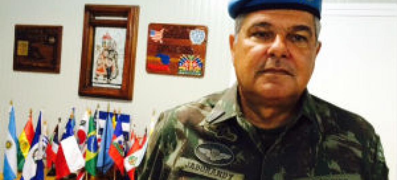 General José Luiz Jaborandy Júnior. Foto: Rádio ONU
