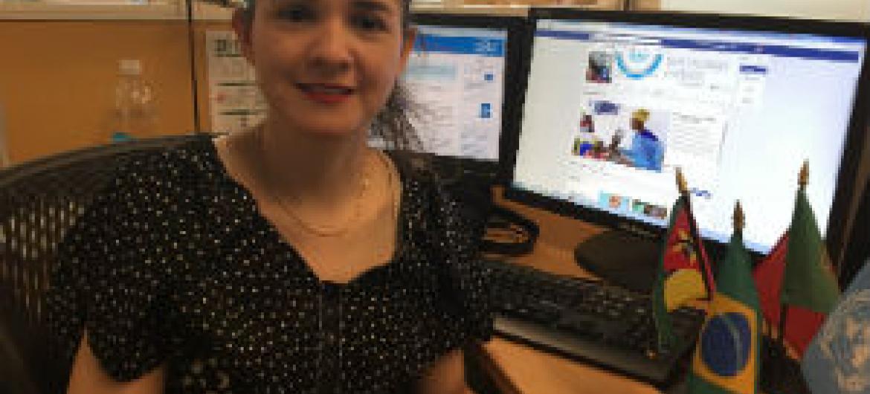 Renata Rubian. Foto: Rádio ONU