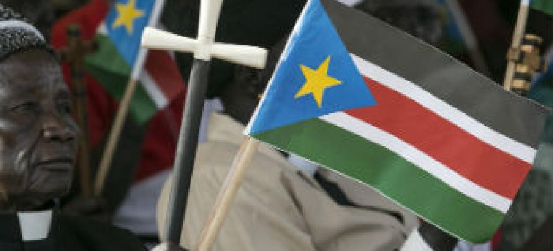 Espera-se que o governo do Sudão do Sul assine um acordo de compromisso de paz. Foto: ONU/Isaac Billy
