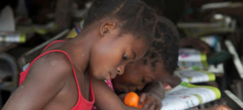 Investir no bem-estar da criança. Foto: Unicef Moçambique