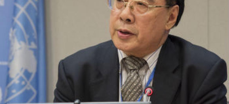 Wu Hongbo. Foto: ONU/Eskinder Debebe