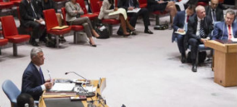 Conselho de Segurança se reúne sobre Kosovo. Foto ONU/Cia Pak