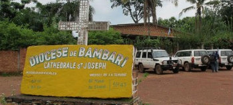 Bambari é a terceira maior cidade centro-africana.