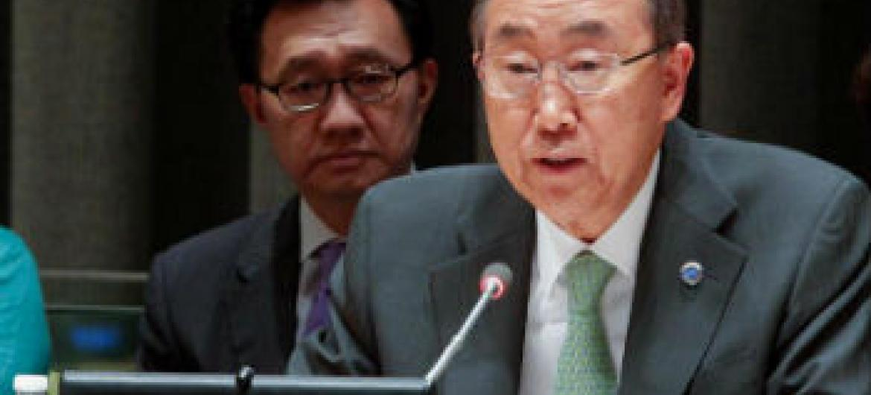 Ban Ki-moon. Foto: ONU/Loey Felipe