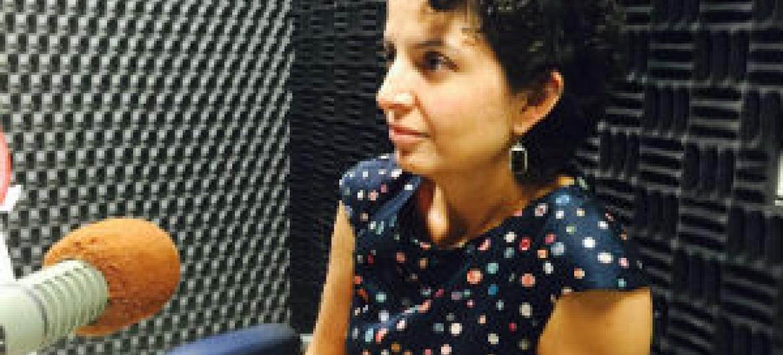Cynthia Viveros-Cano, especialista em Assuntos Humanitários do Escritório das Nações Unidas para a Coordenação de Assuntos Humanitários, Ocha. Foto: Rádio ONU.