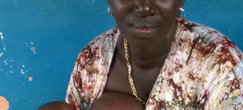 Semana Mundial do Aleitamento Materno. Foto: Rádio ONU/Amatijane Candé