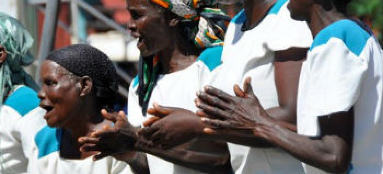 África a caminho de zero casos de poliomelite. Foto: OMS/L. Dore