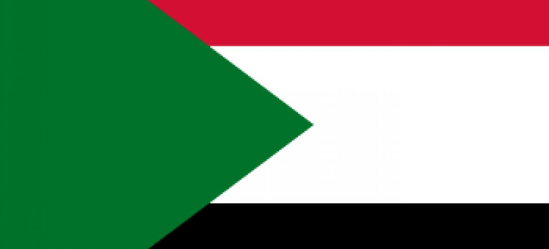 Imagem da bandeira do Sudão
