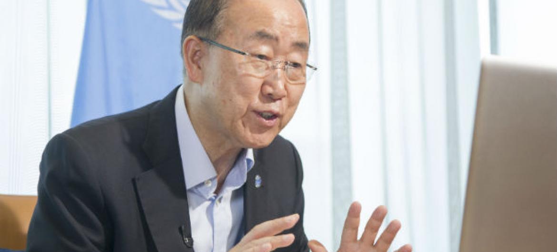 Secretário-geral da ONU, Ban Ki-moon. Foto: ONU/ Rick Bajornas