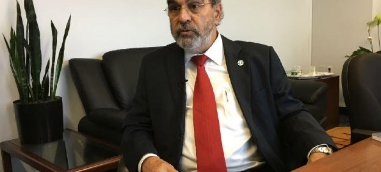 Diretor da FAO, José Graziano da Silva. Foto: Rádio ONU/Edgard Júnior