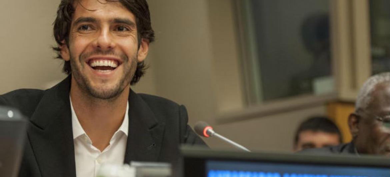 Kaké participou em evento paralelo à Cúpula da ONU sobre o Desenvolvimento Sustentável. Foto: ONU/Cia Pak
