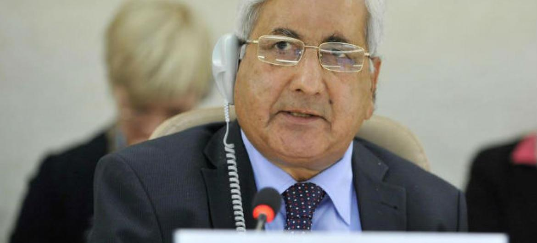 Kishore Singh. Foto: ONU