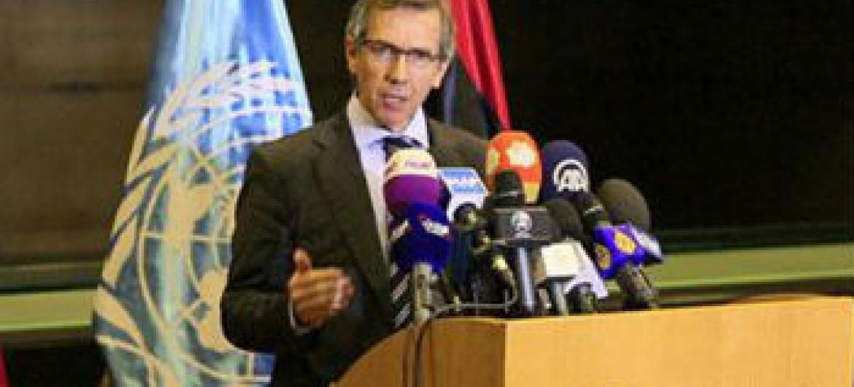 Enviado especial e chefe da Missão de Apoio da ONU na Líbia, Unsmil, Bernardino León. Foto: Unsmil