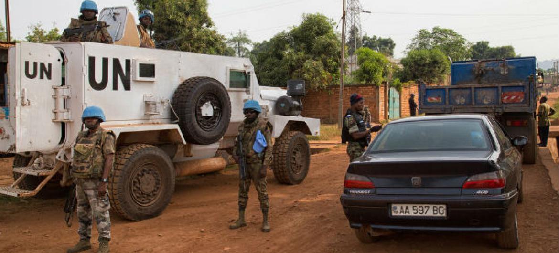 Missão da ONU em Bangui, República Centro-Africana. Foto: ONU/Minusca/Nektarios Markogiannis