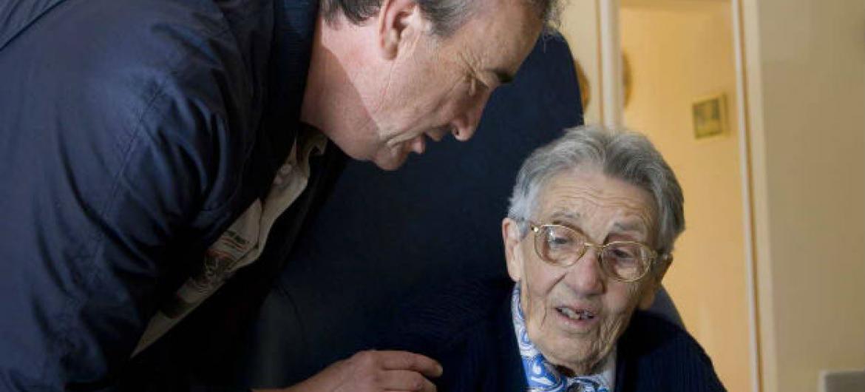 Número de pessoas com mais de 60 anos vai dobrar até 2050. Foto: OMS