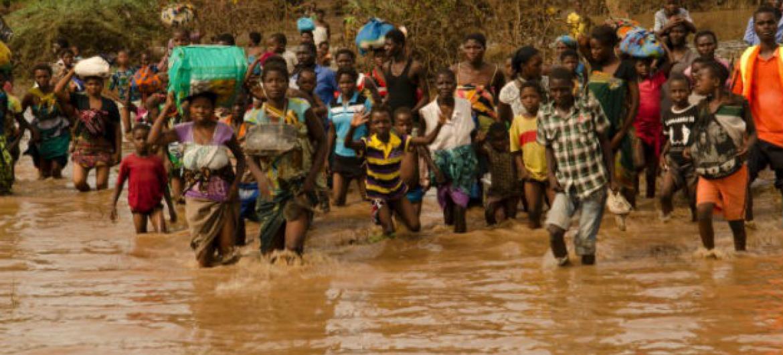 Cheias no Malaui. Foto: Pnud