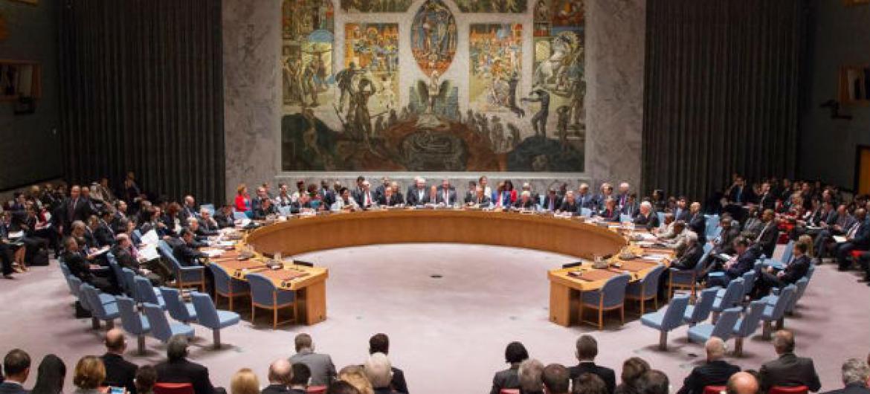 Conselho de Segurança em reunião ministerial sobre terrorismo.Foto: ONU/Loey Felipe