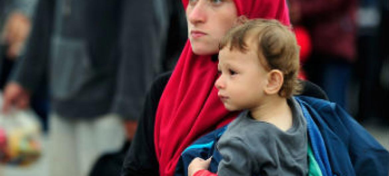 Fundo da ONU preocupado com refugiadas. Foto: UNICEF/Tomislav Georgiev
