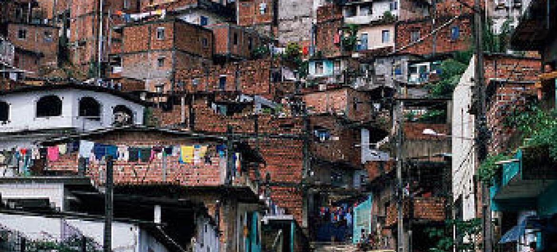 Favela em Salvador. Foto: Banco Mundial.