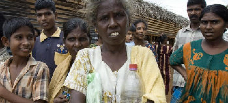 Civis no Sri Lanka. Foto: ONU/Eskinder Debebe