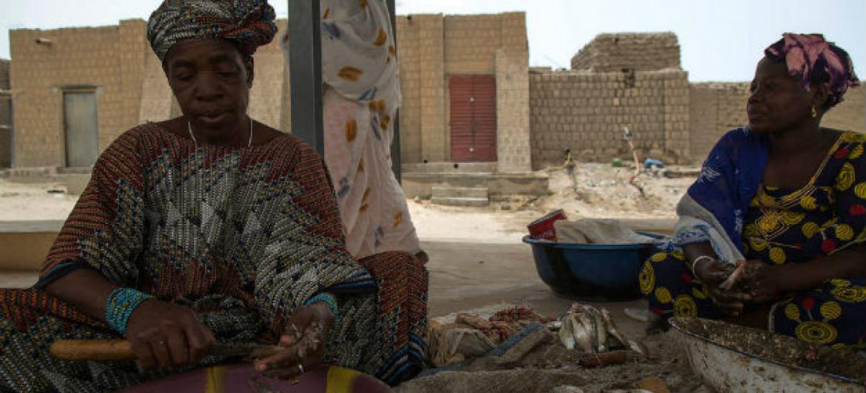 Ajuda humanitária no Mali prejudicada. Foto: Minusma/Harandane