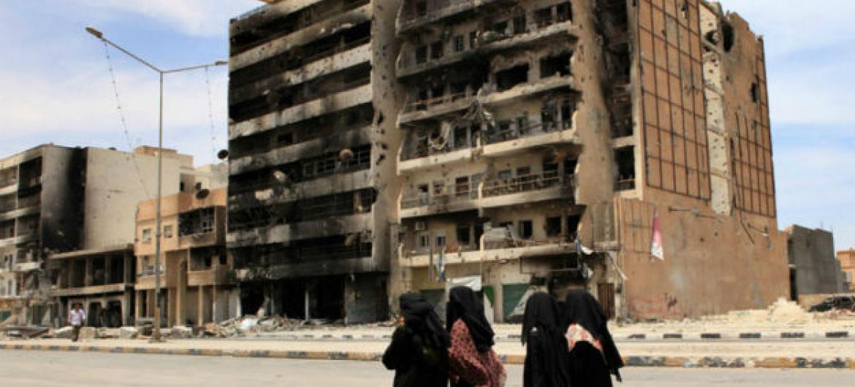 Líbia. UNHCR/Helen Caux