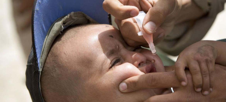 A campanha é dirigida a crianças com menos de cinco anos de idade. Foto: ONU