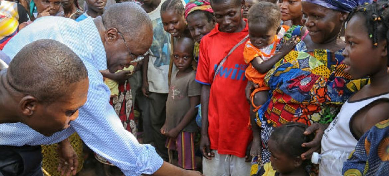 """O responsável diz que cada país, como a República Centro Africana,oferece """"um conjunto único de desafios"""".Foto: Nektarios Markogiannis/Minusca"""