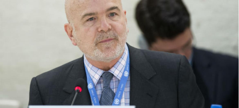 Michel Forst é o relator especial sobre a Situação dos Defensores dos Direitos Humanos. Foto: ONU/Jean-Marc Ferré