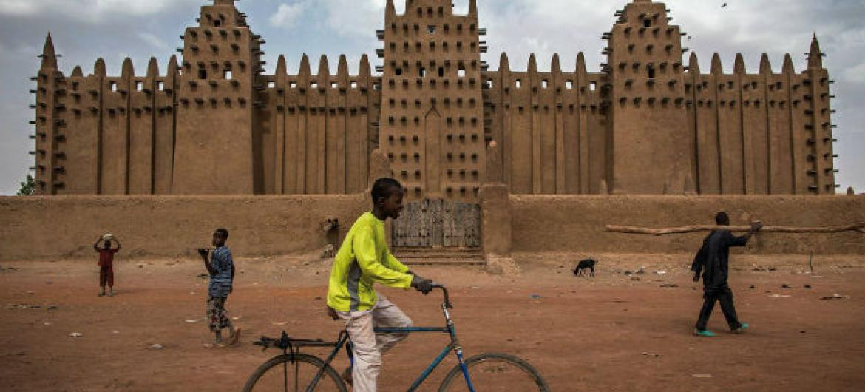 Monumentos de Timbuktu, no Mali. Foto: Minusma/Marco Dormino