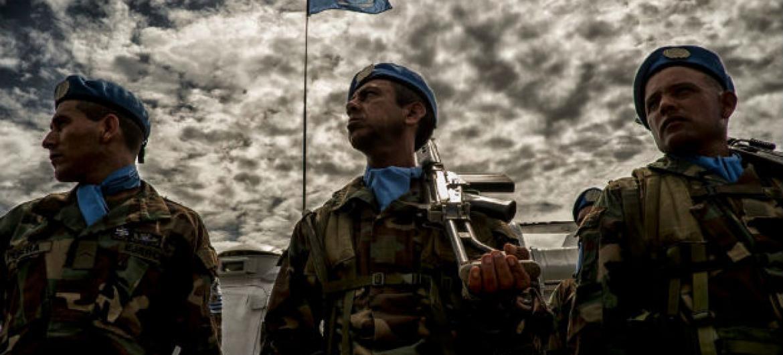 Tropas da Missão das Nações Unidas no Haiti. Foto: Minustah